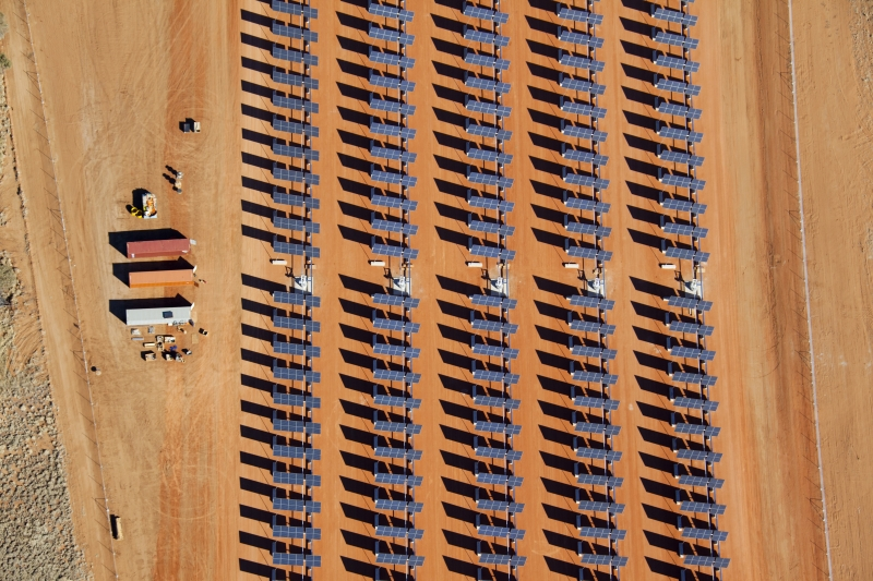 Solar Panels in the Northern Territory.