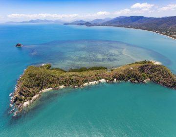 Double Island Haycock Island Queensland Australia Aerial Image