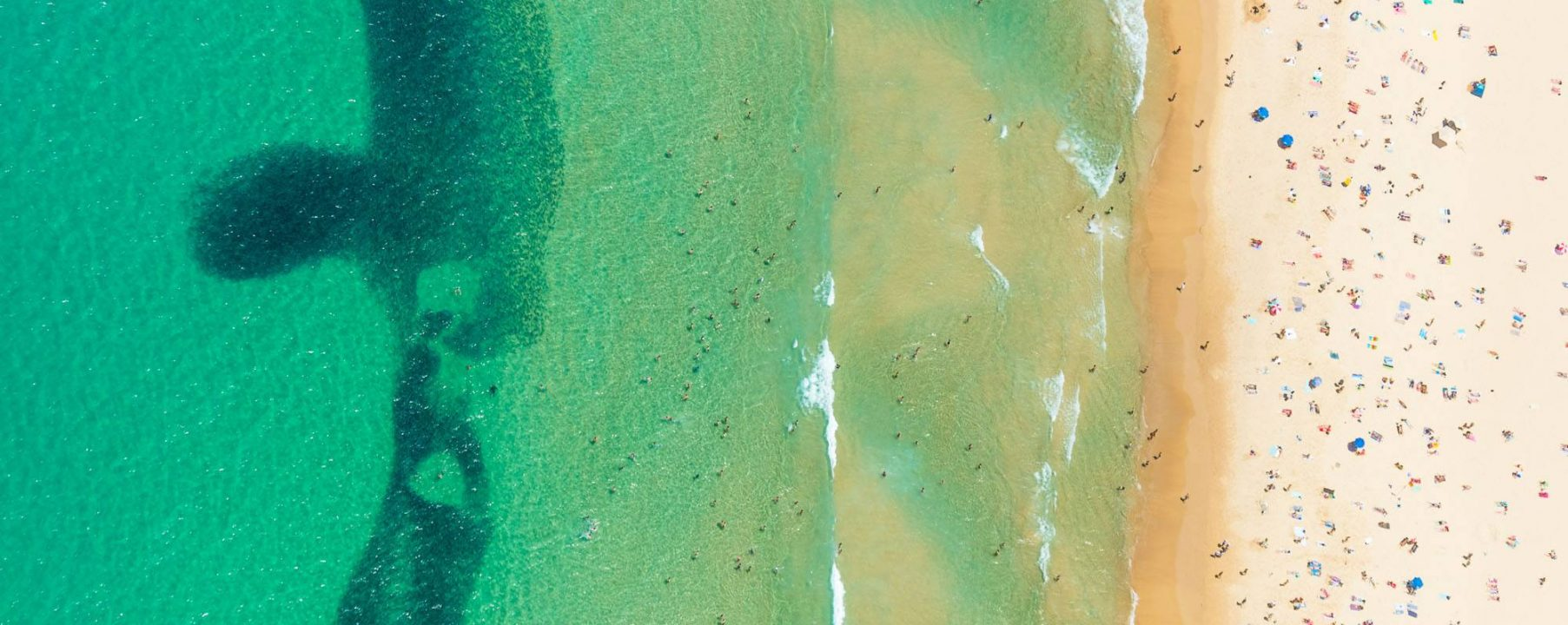 Bondi Beach Sydney Aerial Photograph