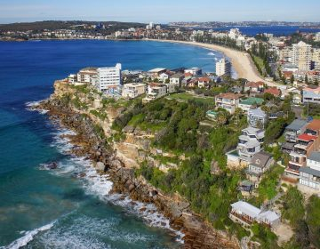 Helicopter Photography Sydney Coastline NSW