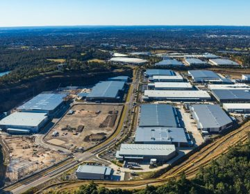 Commercial Industrial Real Estate Aerial Photograph Australia