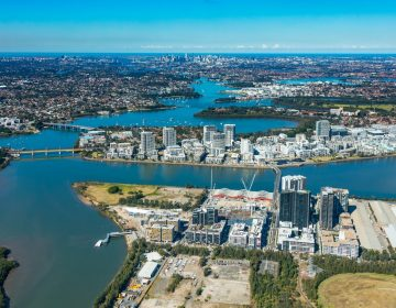 Commercial Real Estate Aerial Photograph Australia
