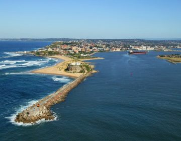 Local Council Sydney Coastline Aerial View