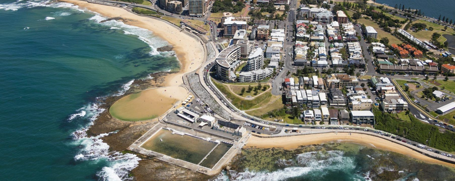 Sydney Coastline Beach Aerial Photo