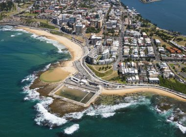 Sydney Coastline Beach Aerial Photo